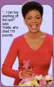 yvette freeman weight gain